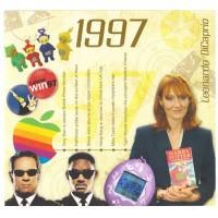 CD картичка с хитове от рождената 1997 година