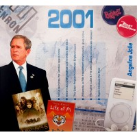 CD картичка с хитове от рождената 2001 година
