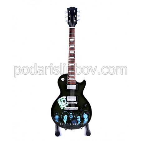 Сувенирна китара за колекционери, група Deep Purple