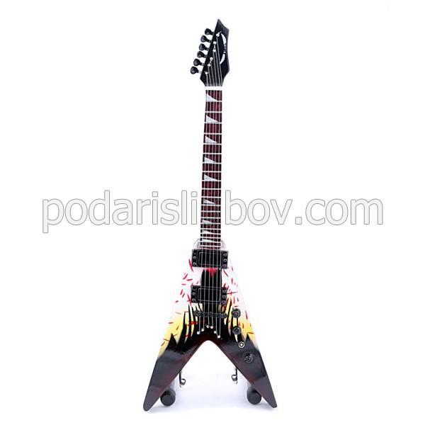 Сувенирна китара Dave Mustaine, Angel Of Dead (Megadeth)