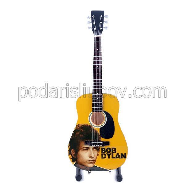 Сувенирна китара Bob Dylan
