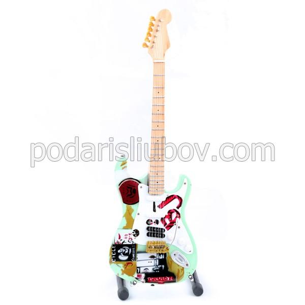 Сувенирна китара Green Day