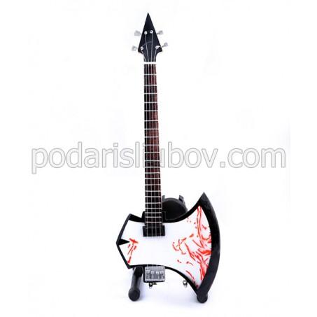Сувенирна бас китара Gene Simmons (Kiss)