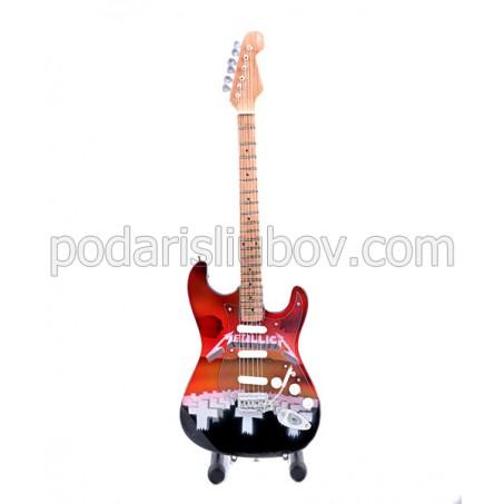 Сувенирна китара Master of puppets (Metallica)