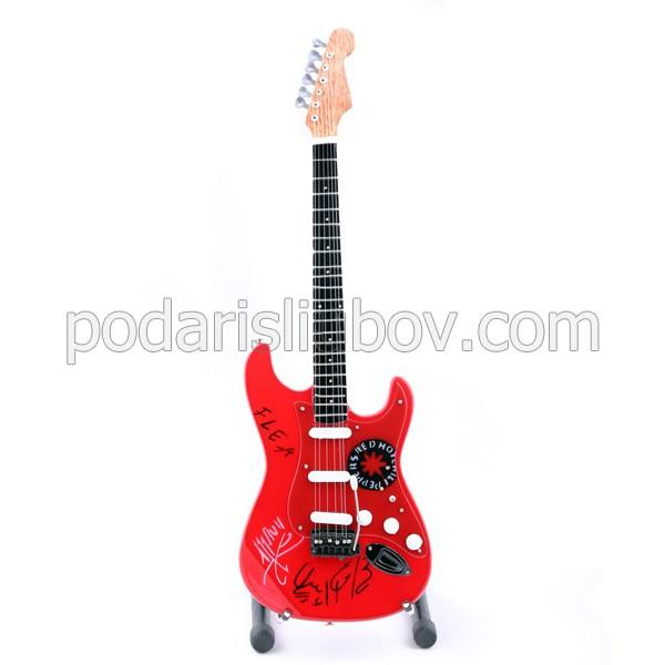 Колекционерска китара Red Hot Chili Peppers