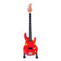 Сувенирна бас китара Flea (Red Hot Chili Peppers)