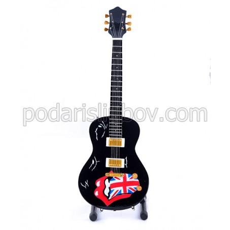 Колекционерска мини китара Rolling Stones