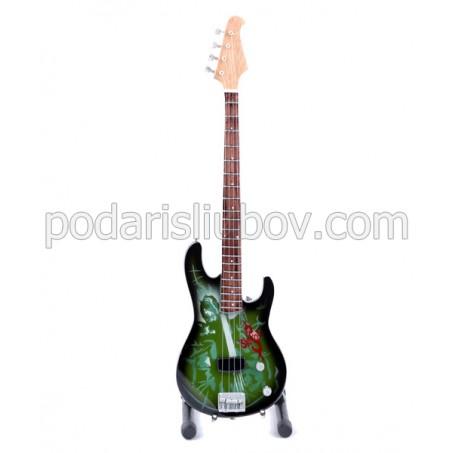Сувенирна бас китара Paul Grey (Slipknot)