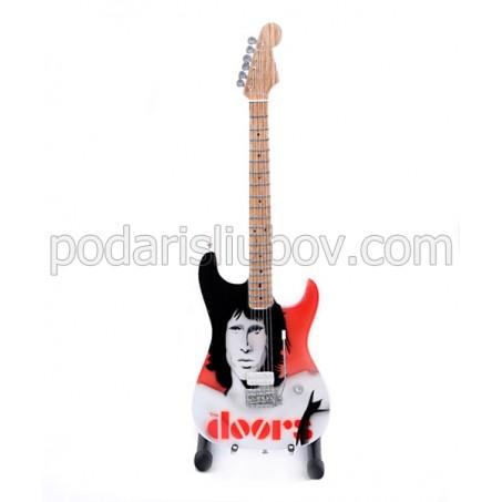 Колекционерска мини китара Jim Morrison (The Doors)