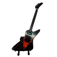 Сувенирна китара с червен елен, James Hetfield (Metallica)