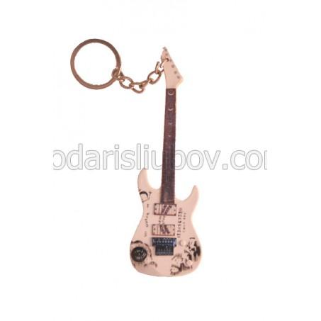 Ключодържател Kirk Hammett (Oujia - бял цвят)