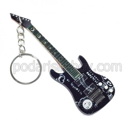 Ключодържател Kirk Hammett (Oujia - черна)