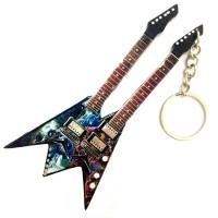 Ключодържател двойна китара Dave Mustaine (Megadeth)