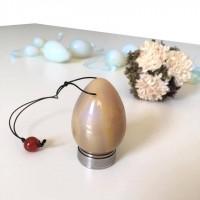 Яйце за кегел упражнения от ахат (jade egg) с безплатна доставка до офис на Еконт