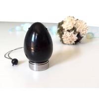 Яйце за кегел упражнения от обсидиан (jade egg)