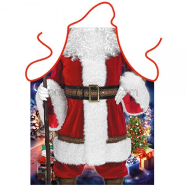 """Престилка за готвене """"Дядо Коледа"""""""