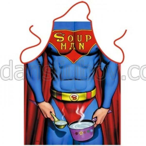 """Престилка за готвене """"Супа мен"""""""