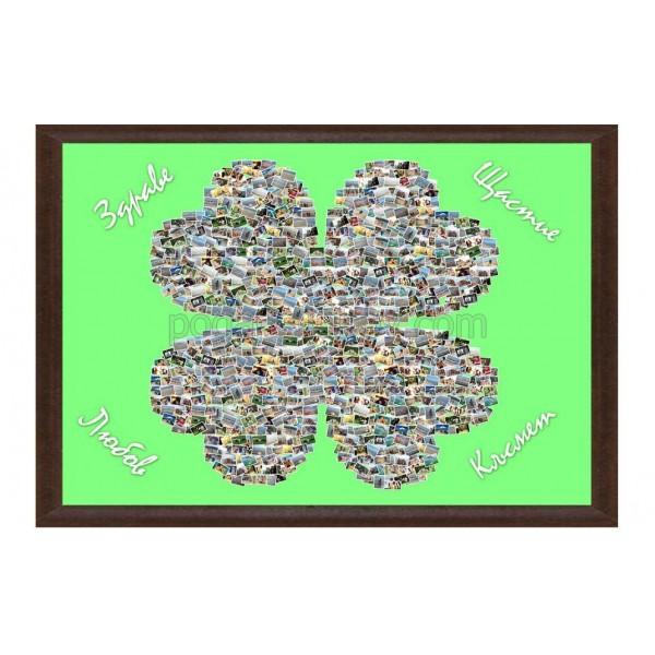 Колаж Детелина за късмет с Ваши снимки, различни размери