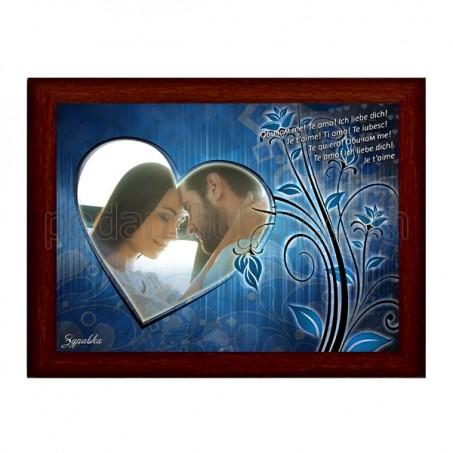 Романтичен подарък с Ваша снимка в сърце