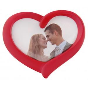 Рамка - сърце с Ваша снимка, червена или черна