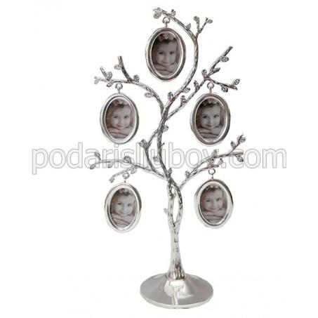 Рамка - Родословно дърво, с 5 Ваши снимки