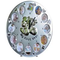 Рамка - часовник Моята първа годинка, с 12 снимки