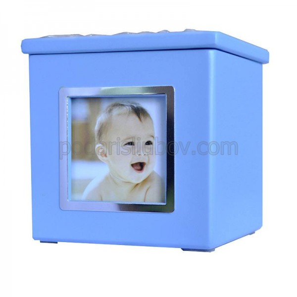Рамка - детска касичка, за Ваша снимка, 9*9см