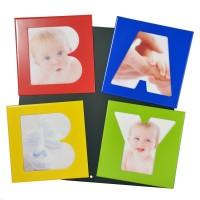 Рамка - магнит за 4 снимки, BABY, 17*17см