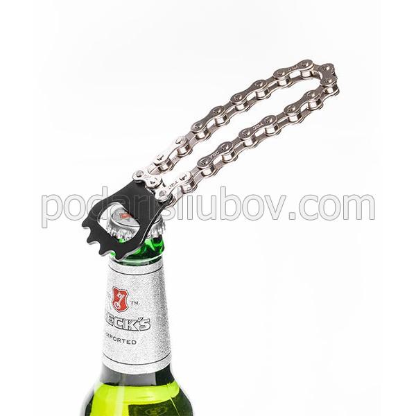 Отварачка за бира Верига от колело