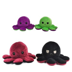 Плюшено октоподче, с различни цветове, малък размер