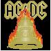 """Дамска тениска """"AC/DC"""""""