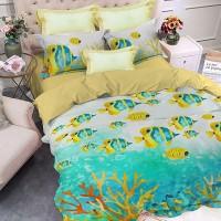 "Спален комплект ""Коралов риф"", ранфорс Premium, размери"
