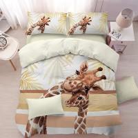 "Спален комплект ""Жирафи"", ранфорс Premium"