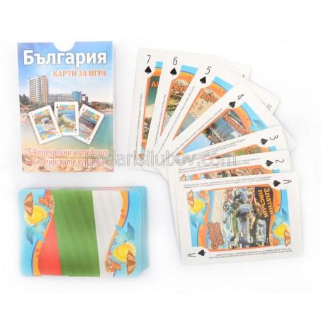 Карти за игра с изгледи от български курорти