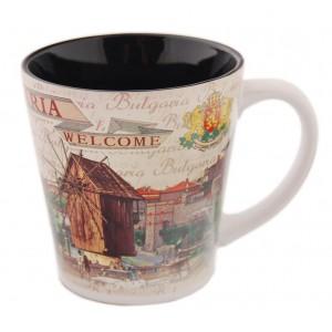 """Керамична чаша """"България"""", различни модели"""