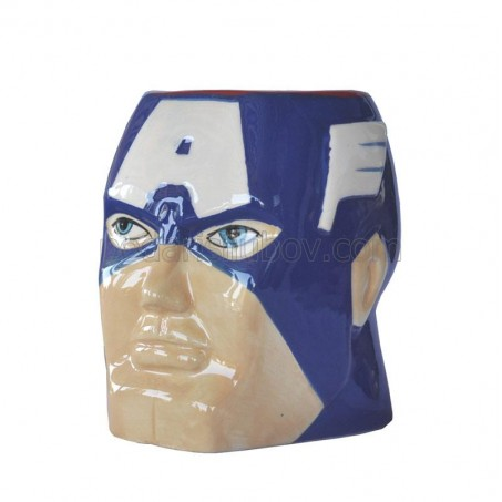"Керамична чаша ""Капитан Америка"""