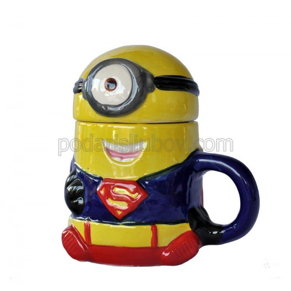 "Керамична чаша ""Супер Миньон"""