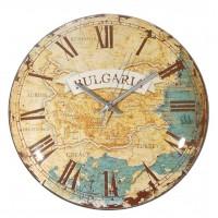 Стенен часовник България, ретро, d27см