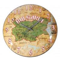 Стенен часовник Bulgaria, d27см