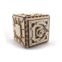 Дървен сейф, 3Д пъзел