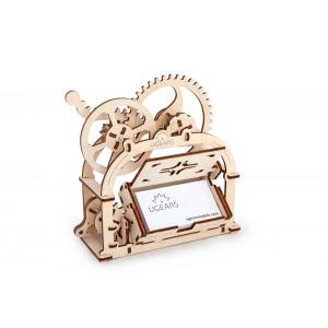 Дървена кутия за визитки, 3Д пъзел