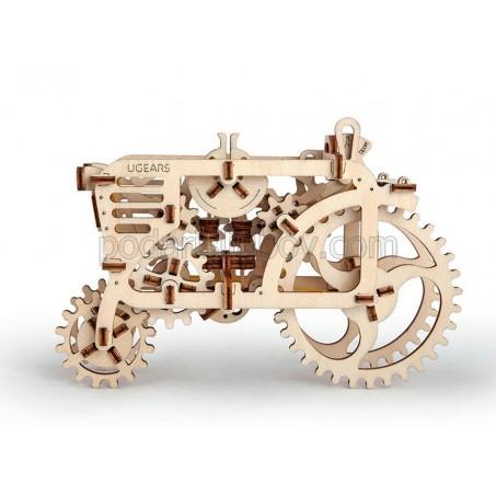 Трактор, 3Д пъзел