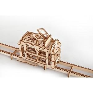 Трамвай с релси, 3Д пъзел