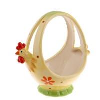 Керамична кошница за яйца - голяма