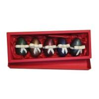 Кутия с 5бр. шоколадови яйца
