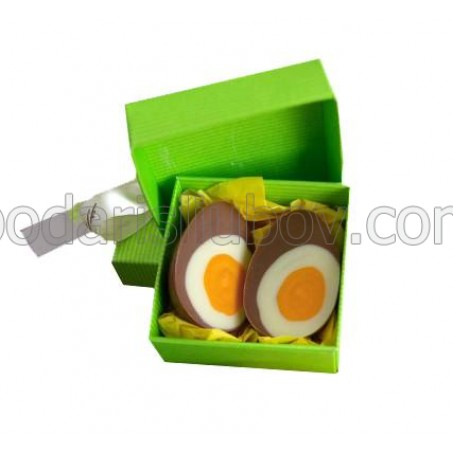 """Кутийка с яйце """"Жълтък и белтък"""""""