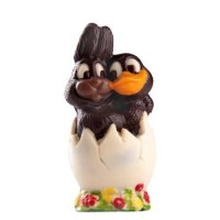 Шоколадово пате и заек в яйце